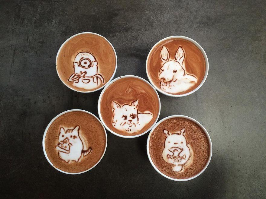 koffie kunst - Laat je verbazen!