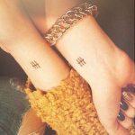 kleine bff tattoo