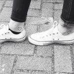 bff tattoo voet