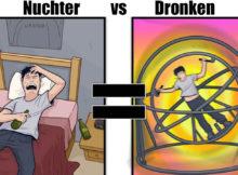 hoe je dingen ervaart als je dronken bent