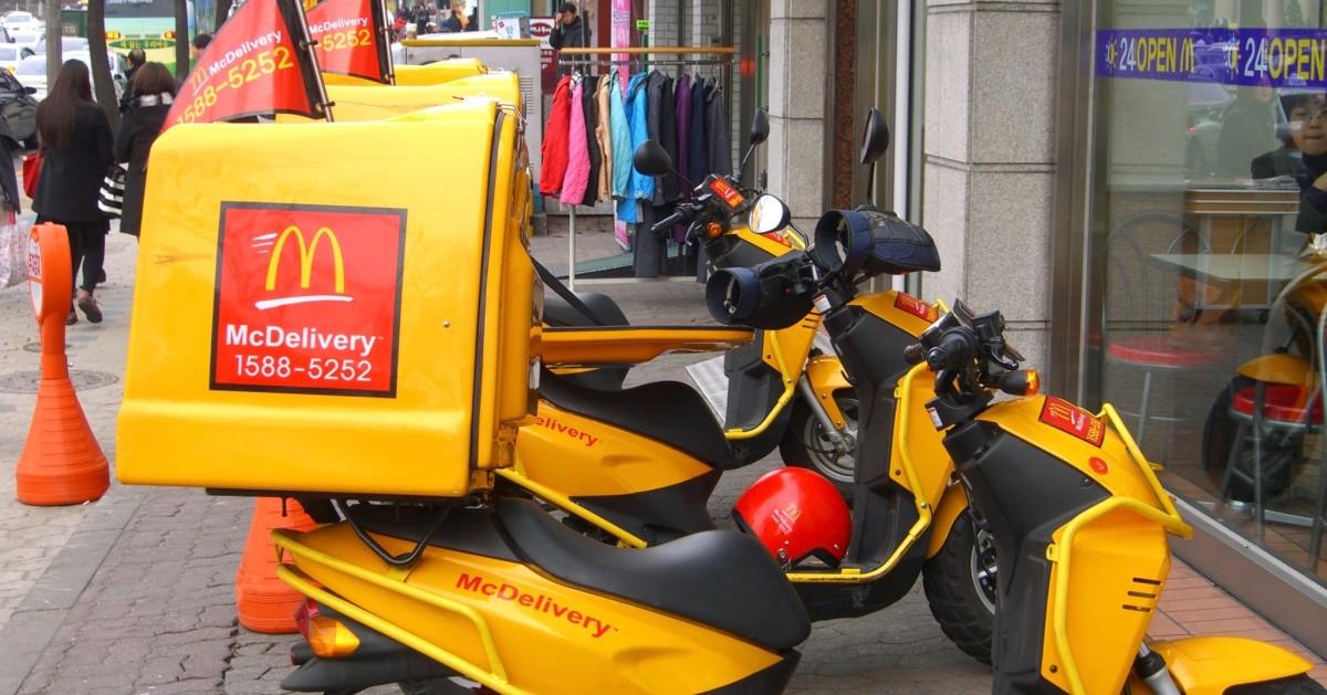 McDonald's gaat eindelijk thuisbezorgen